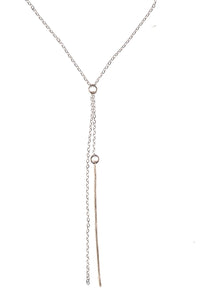 IVY Lariat Bar Necklace