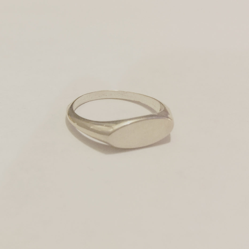 Sterling Signet Ring