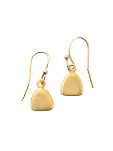 Philippa Roberts: Little Tab. vermeil earrings