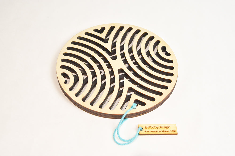 Baltic By Design: Waves Trivet
