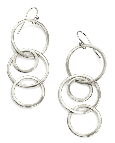 Philippa Roberts: Links. silver earrings
