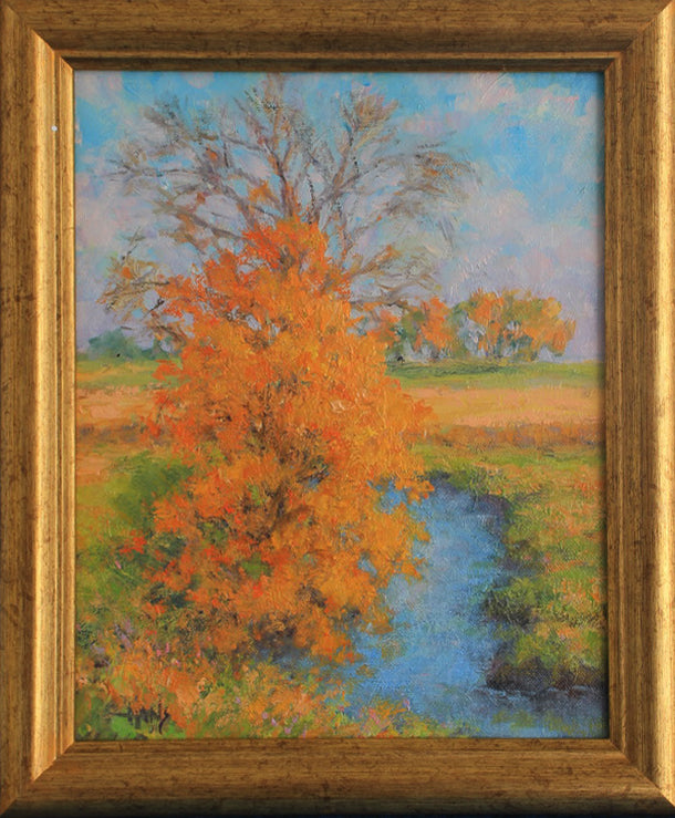 Hans Eric Olson: Golden Colors of Fall