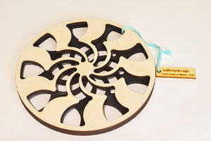 Baltic By Design: Spiral Trivet