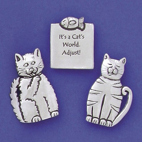 Basic Spirit: Medium Magnet Set-Cats Quote