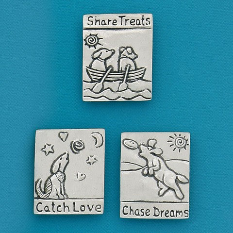 Basic Spirit: Medium Magnet Set-Chase Dreams Dogs