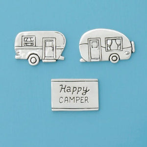 Basic Spirit: Happy Camper Med Magnet Set