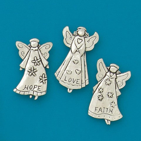 Basic Spirit: Hope Angels Med magnet set