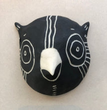 Oxide Pottery: Bird Critter Head