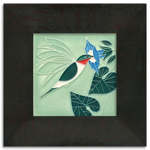 Motawi Tile: 6x6 Little Sipper - Mint