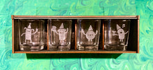 Doles Orchard: Party Animal Shot Glasses - 4 Pack
