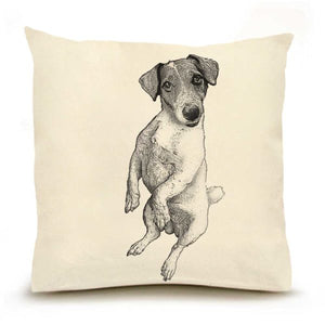 Eric & Christopher: Large Jack Russell Dog Pillow