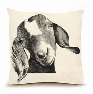 Eric & Christopher: Large Goat Head Pillow