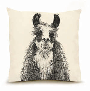 Eric & Christopher: Large Llama Pillow