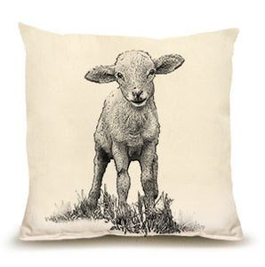 Eric & Christopher: Medium Baby Lamb Pillow