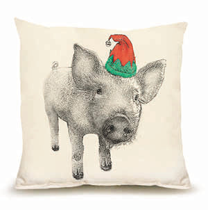 Eric & Christopher: Medium Elf Pig Pillow