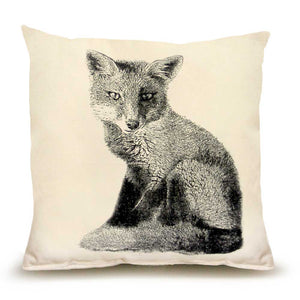 Eric & Christopher: Medium Fox Pillow