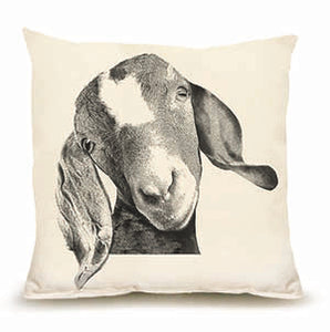 Eric and Christopher: Medium Goat Head Pillow