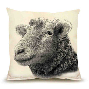 Eric and Christopher: Medium Sheep Pillow
