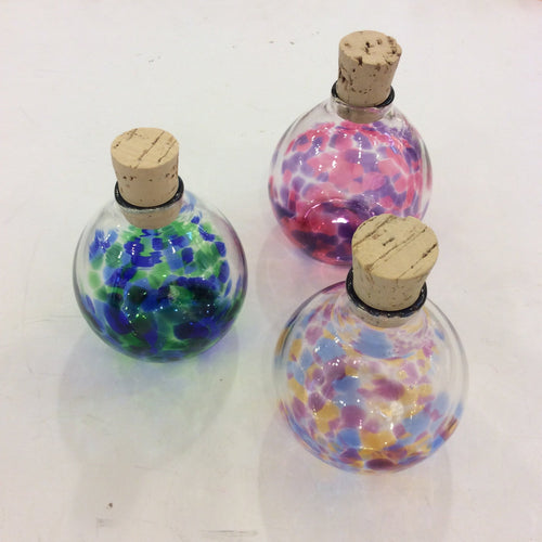 Henrietta Glass: Forget Me Not Memory Bottle