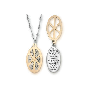 Kathy Bransfield: Pendant with Chain- The Future