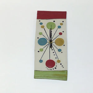 Ed and Kate Coleman: Red and Green Multi Clock
