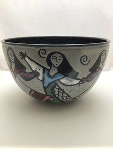What Cheer: Dancing Lady Serving Bowl