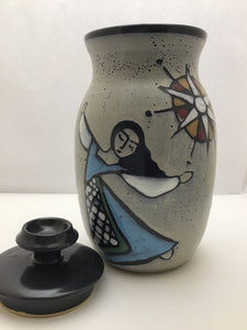 What Cheer: Dancing Lady Covered Jar