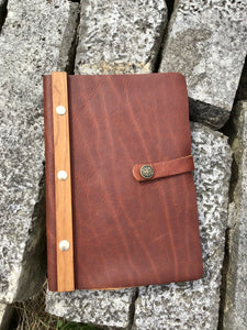 Leelanau Trading Co: Large Journal w/ Snap Closure