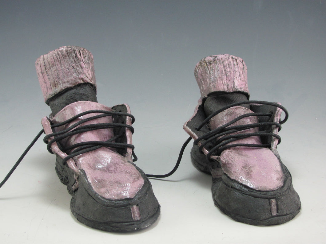 Richard Hess: Ceramic Shoes with Socks