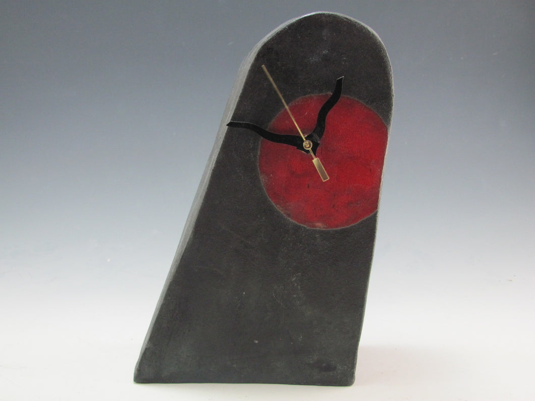 Richard Hess: Desk Clock - Red