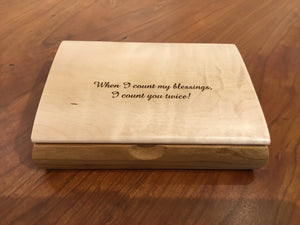 Mikutowski: Assorted Tranquility Jewelry Box w/ Engraving