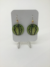 Karon Killian: Small Oak Leaf Earrings