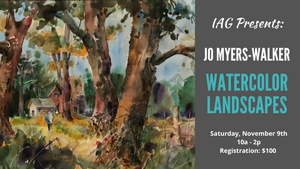Jo Myers-Walker: Watercolor Landscapes Workshop