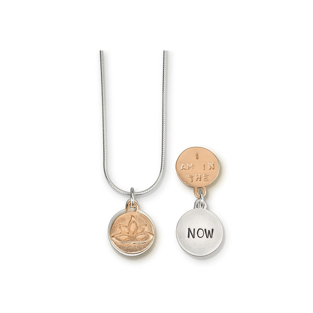 Kathy Bransfield: Pendant with Chain-In The Now