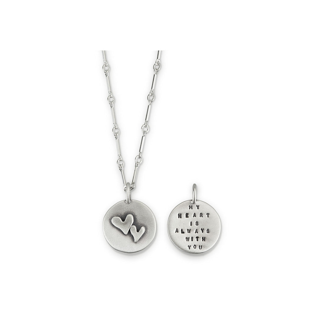 Kathy Bransfield: Pendant with Chain-My Heart