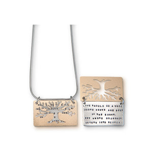 Kathy Bransfield: Pendant with Chain- Love Tree