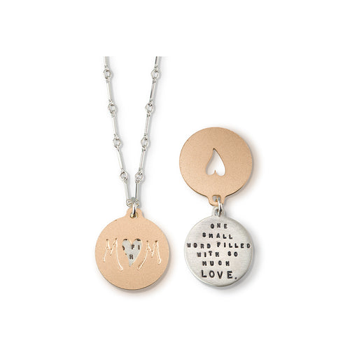 Kathy Bransfield: Pendant with Chain- Mom
