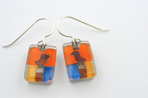 "Momo: ""Santa Fe"" Dangle Earrings"