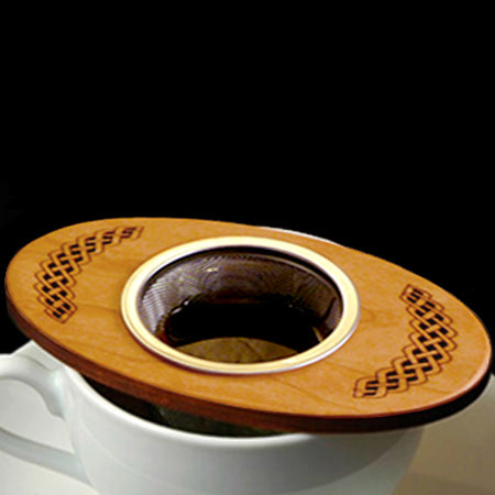 MoonSpoon: Celtic Tea Strainer