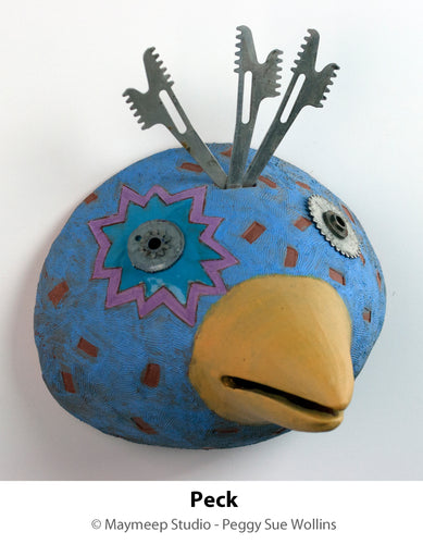 Peggy Sue Wollins: Peck