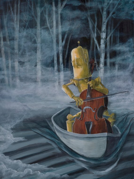 Lauren Briere - Robots In Rowboats: