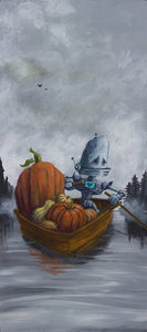 "Lauren Briere - Robots In Rowboats: ""Harvest Bot"" Print"