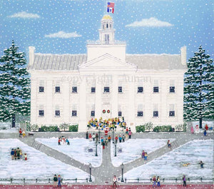 "Suzanne Aunan: ""Snowy Old Capitol"""