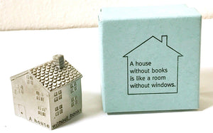 Vilmain: A House Without Books