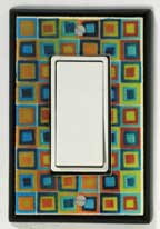 All Fired Up! Ltd. : Art Glass Switch Plate Covers