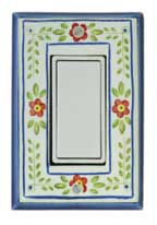 All Fired Up! Ltd. : French Country Switch Plate Covers