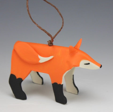 Beth DiCara: Fox Ornament