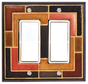 All Fired Up! Ltd. : Concentric Switch Plate Covers