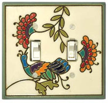 All Fired Up! Ltd. : Fantasy Bird Switch Plate Covers
