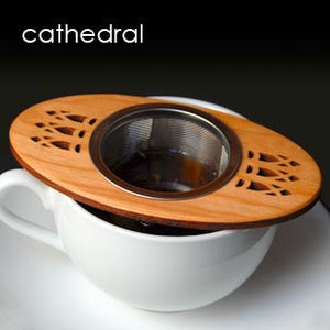 MoonSpoon: Cathedral Tea Strainer